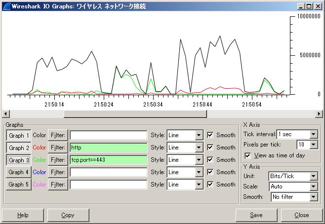 Wiresharkで使用帯域を確認する方法 | NWスペシャリストのたまご